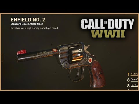ENFIELD NO. 2 CHROME CAMO in Call of Duty: WW2