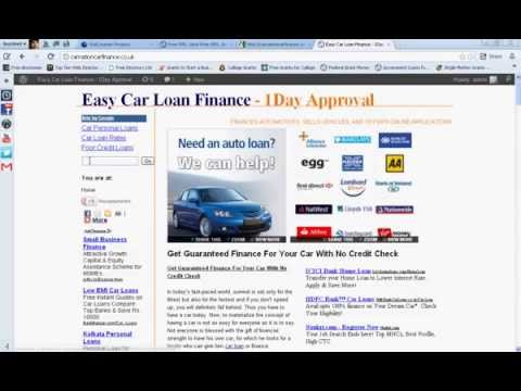 No Credit Check Car Loans-Guaranteed Approval Auto Finance