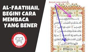 Download lagu SHDB Extra - AL-FATIHAH, BEGINI CARA MEMBACA YANG BENER