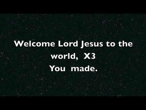 Welcome, Jesus! Lyric Video-One bright star musical