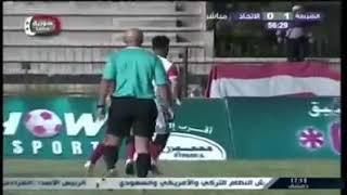 هدف الاتحاد على الشرطة اياب الدوري السوري 2018/2017