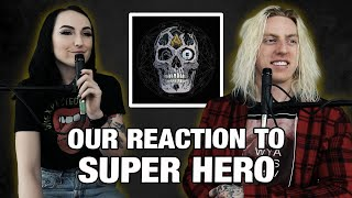 Wyatt and Lindsay React: Super Hero by Atreyu feat. M. Shadows & Aaron Gillespie