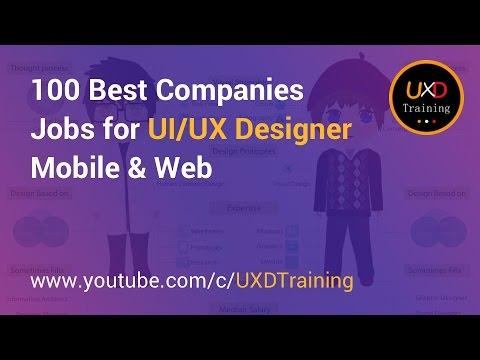 UX JOBS | Top 100 Best UX Design Company for UI/UX Designer