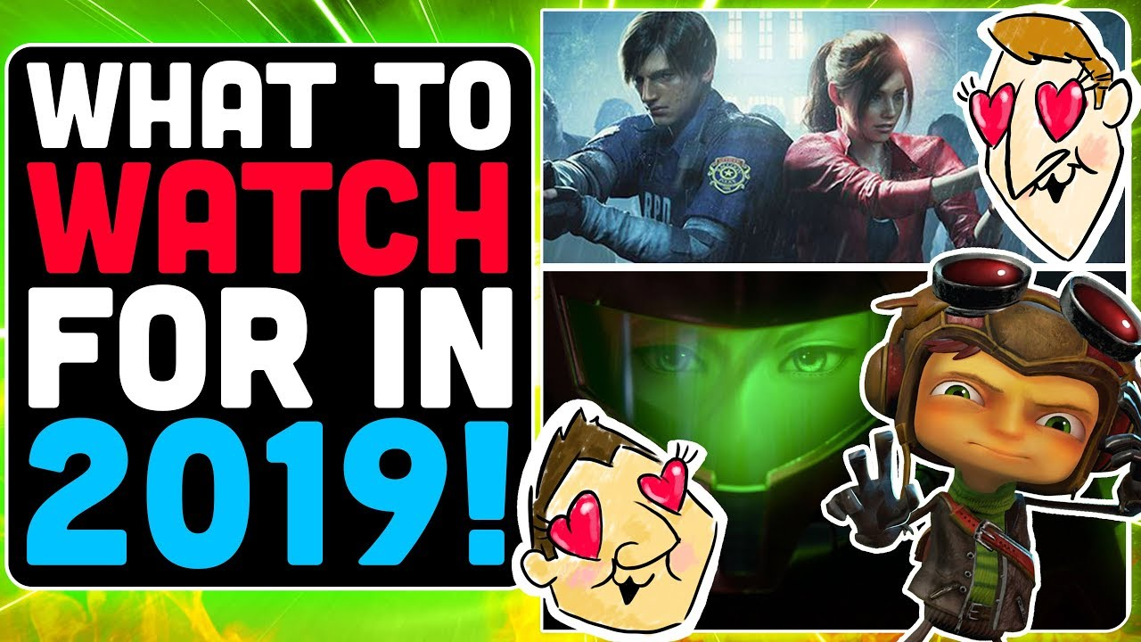 Best Upcoming Games For 2019 - Hot Take