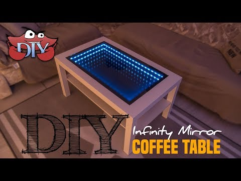 DIY Infinity Mirror Coffee Table