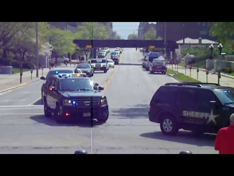 May 2, 2013 Springfield, Illinois Police Memorial Procession