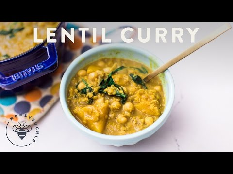 Lentil Curry with PULSES – Honeysuckle