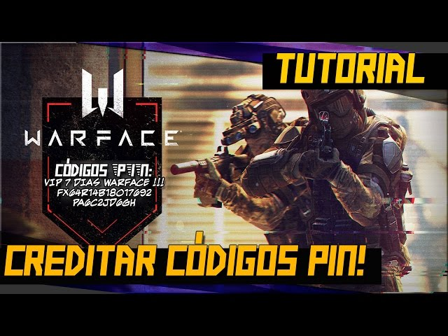Como creditar códigos PIN no WARFACE