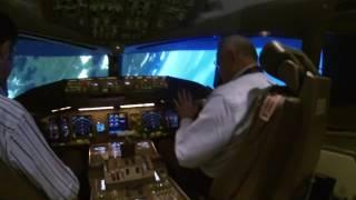 Extreme flying on 777 Simulator - UPRT