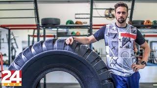 Guinnessov rekorder vježba s gumom od 120 kilograma | GURAJ DO KRAJA | Epizoda 1