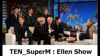 SuperM Jopping Ellen show