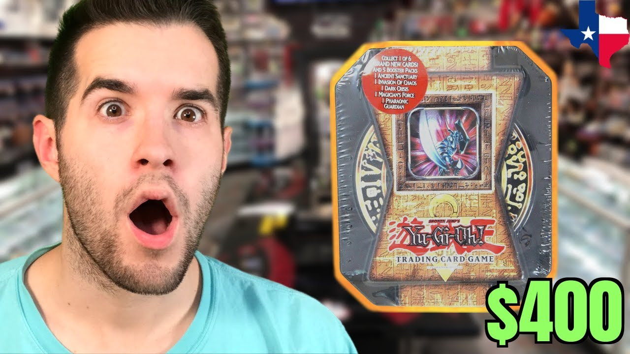 17 YEAR OLD Yugioh Cards DISCOVERED In Texas (Opening It)