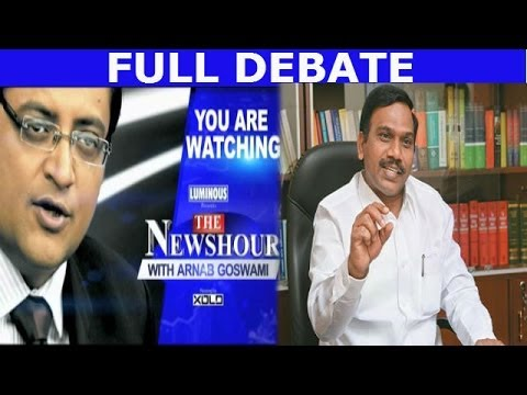 The Newshour Debate: 'Prime Minister let me down' A Raja - (13th March 2014)