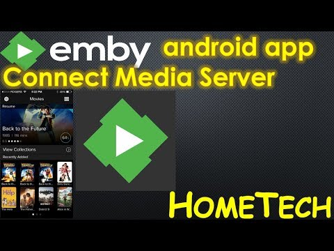 install & config Emby app on android phone with Emby media server | install  Emby app on smart device