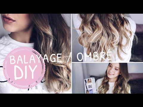 diy 20 at home hair balayage ombre tutorial update doovi. Black Bedroom Furniture Sets. Home Design Ideas