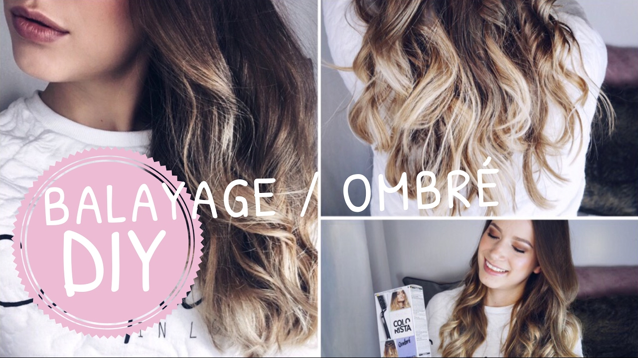 diy balayage ombre hair tutorial selber f rben zuhause elenasmakeup youtube. Black Bedroom Furniture Sets. Home Design Ideas