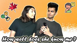 HOW WELL DOES SHE KNOWS ME!!🧐Ft. GujjuUnicorn(SURPRISED😱)