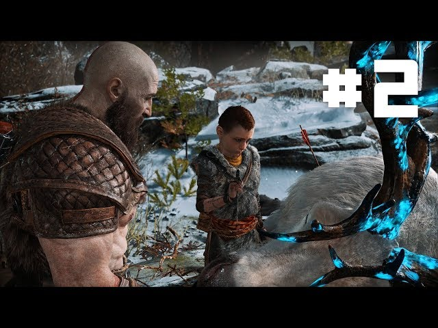 God of War 4 - EP 2 - Fighting a Mysterious Viking Stranger