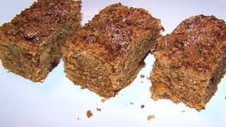 Snickerdoodle Blondies - Gluten Free