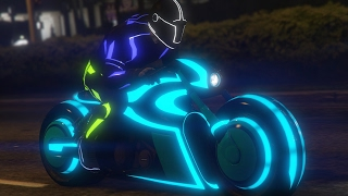 GTA 5 Online: How to get Tron Bike - (GTA 5 Online Tron Bike)