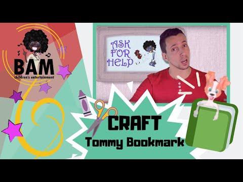 Aunty B TV, Episode 1  Make a Tommy Bookmark