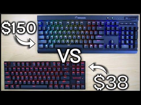 $38 vs $150 Mechanical Gaming Keyboard!