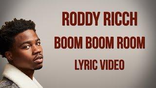Roddy Ricch - Boom Boom Room (LYRICS)