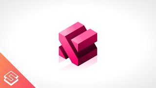 Inkscape Tutorial: 3D Abstract Cube