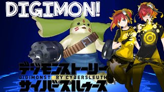 digimon story cyber sleuth access point digi evolution battle review thoughts english