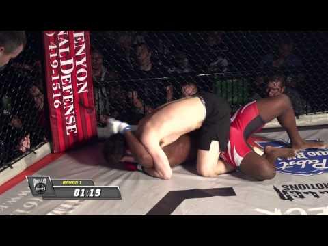 Fight 06 Tom  Krenzel vs Alton Cunningham Amateur 185 Pounds