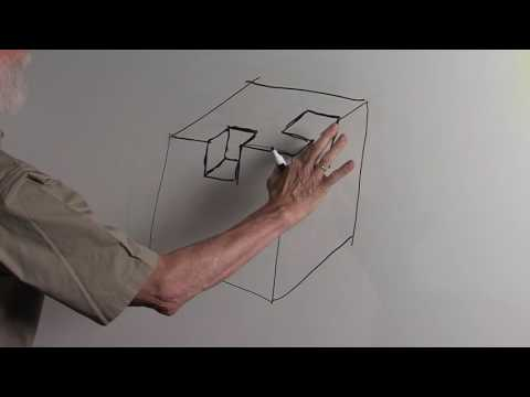 Art Basics with Dick Termes: Drawing - Cube Subtraction