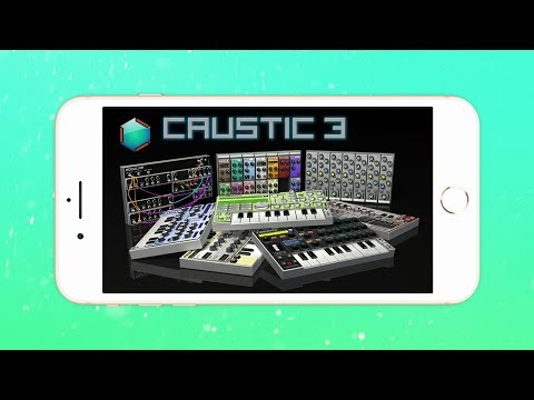 I FINALLY Try Caustic! (Music Making App for iOS)
