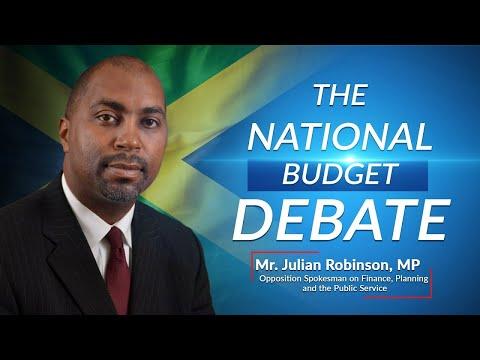 Jamaica's National Budget Debate 2021/2022 (Rebroadcast) – Opposition Spokesperson on Finance