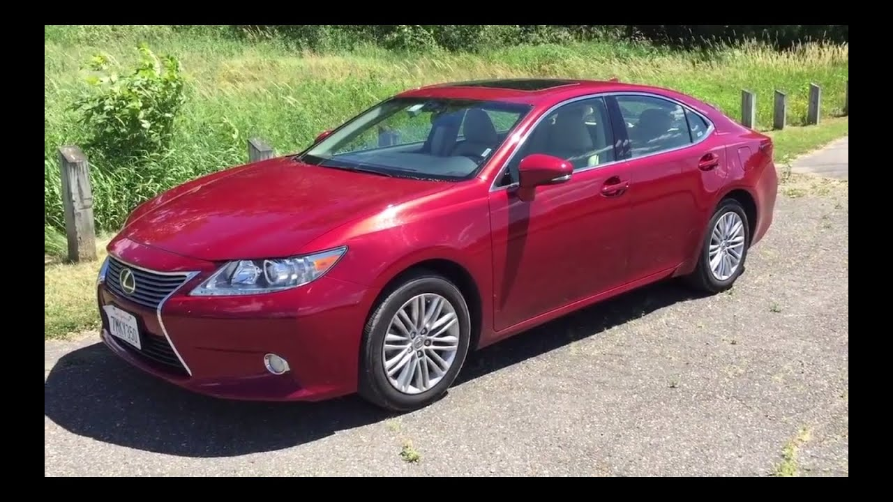 2015 lexus es 350 full interior and exterior review youtube. Black Bedroom Furniture Sets. Home Design Ideas