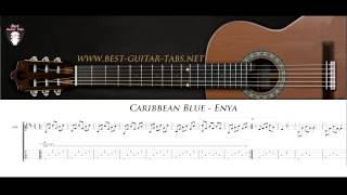 Caribbean Blue (Enya) - Solo Fingerstyle Guitar Cover