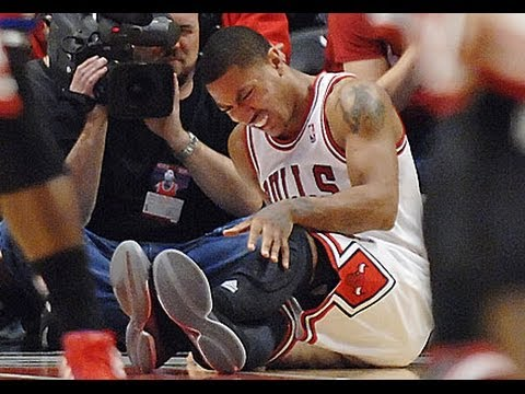 Derrick Rose with ANOTHER KNEE INJURY!? Is his career over ...