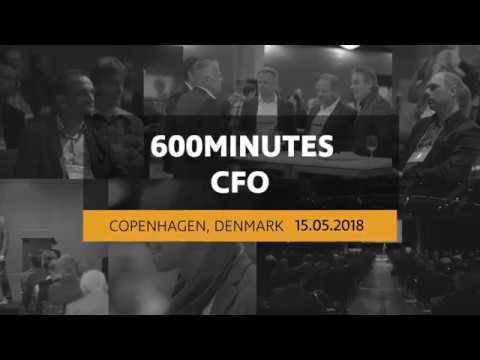 600Minutes CFO 2018 in Copenhagen, Denmark