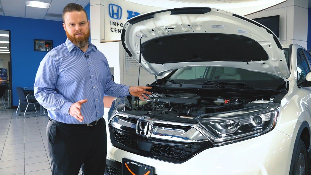 2017 Honda CR-V GM review - uhonda.com - YouTube