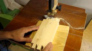 Dovetail Joints On The Bandsaw
