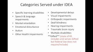 Introduction to Special Education Part 1