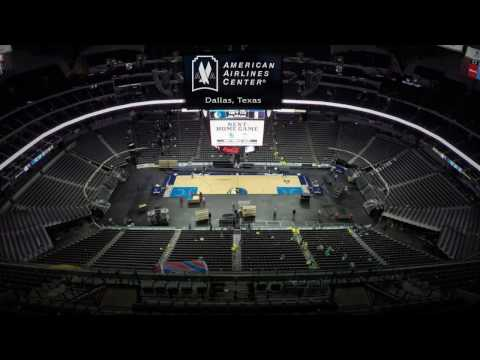 Basketball to Hockey Conversion | American Airlines Center