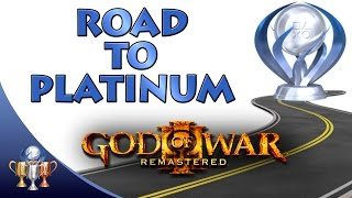 God Of War 3 Remastered Road To Platinum -  Quickest & Easiest Way To The Platinum Trophy