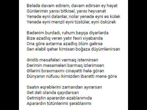 Epi - Bir Gün Prezident Olsam (Lyrics)