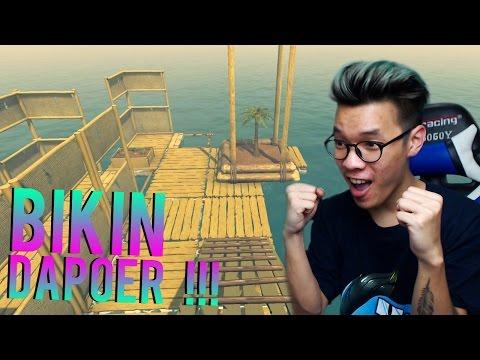 BIKIN DAPUR + UPGRADE SAMPAN | Raft Indonesia Gameplay #2
