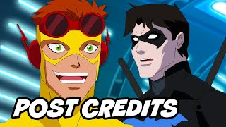 Young Justice Season 3 Ending - Post Credit Scene and Wally West Breakdown