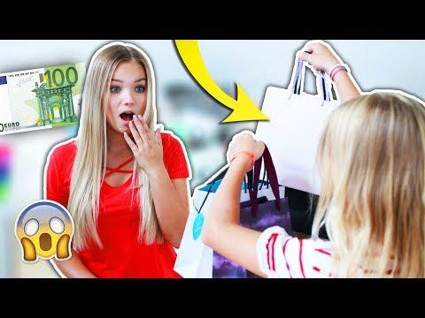 MEINE KLEINE SCHWESTER 'KLAUT' mir 100 Euro!😳 Ich weiß nicht, wofür sie mein Geld ausgibt!💸