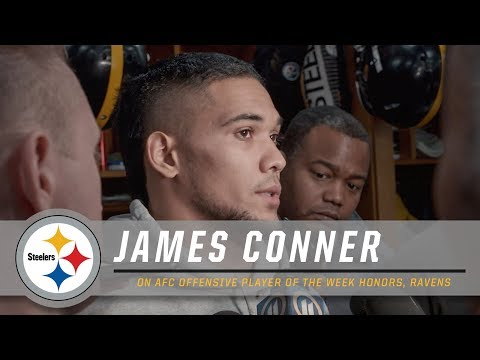 Conner learning every week | Pittsburgh Steelers