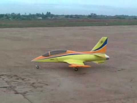 RC Turbine Jet at Sholavaram, Chennai. Piloted by Gurunath