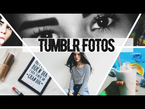 CÓMO SACAR Y EDITAR FOTOS ESTILO TUMBLR//HOW TO MAKE PICTURES TUMBLR📷