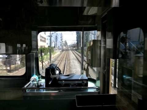 2010 Seibu-Kokubunji Line Train Nears Kokubunji 100303